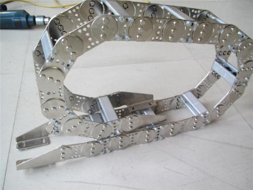 葫芦岛钢制电缆坦克链