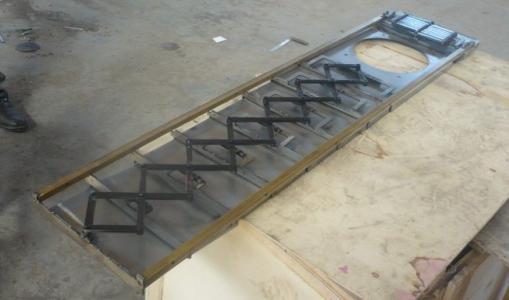 日本马扎克5500MT机床导轨伸缩护板——降低制造业成本