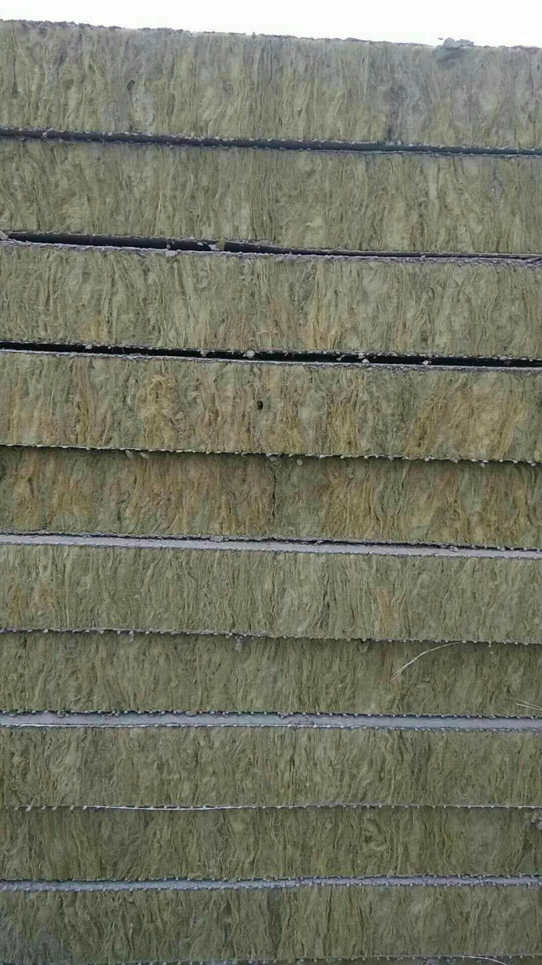 天水外墙保温水泥岩棉复合板\A级外墙保温岩棉复合板厂