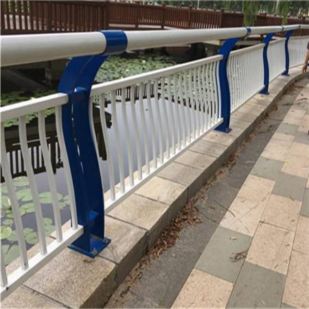 济南桥梁河道防护栏工程施工方案