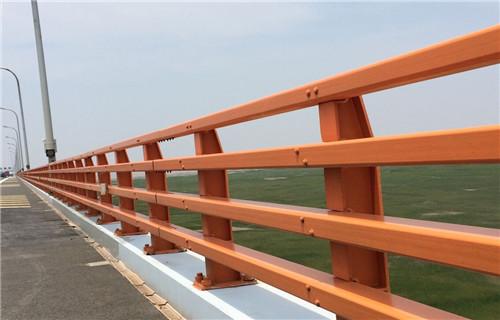 黄冈不锈钢桥梁栏杆双立柱造型美观