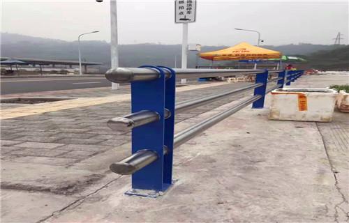 内江防撞喷塑立柱栏杆绿色环保安全