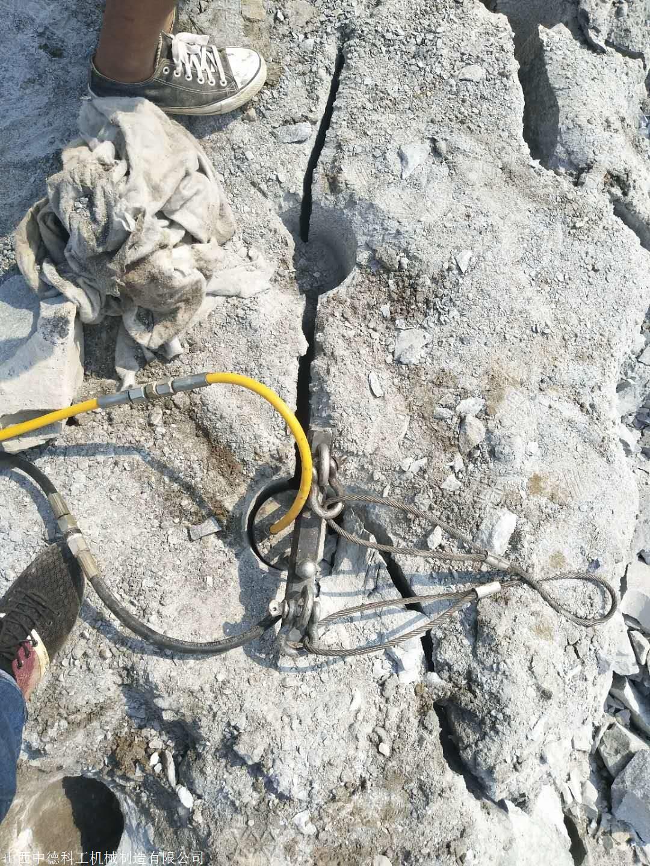 蚌埠硬石頭打不動又不準放炮用什么機器取代