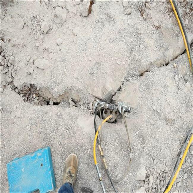 快速液壓破石頭設備巖石開采安徽省蚌埠