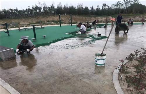 山东新国标硅pu球场工程有限公司