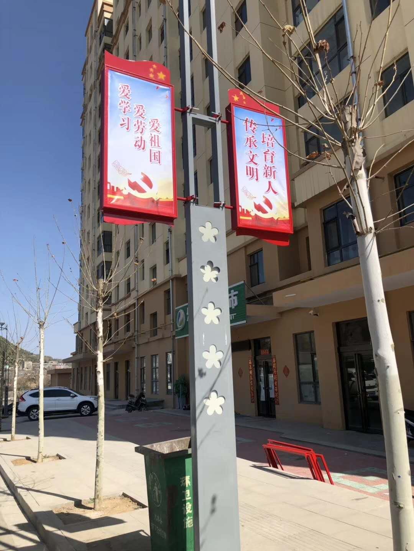 安庆市路边路杆广告牌/道旗制作公司