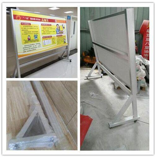 沧州市供应质量好的单面优质铝合金海报架专业快速