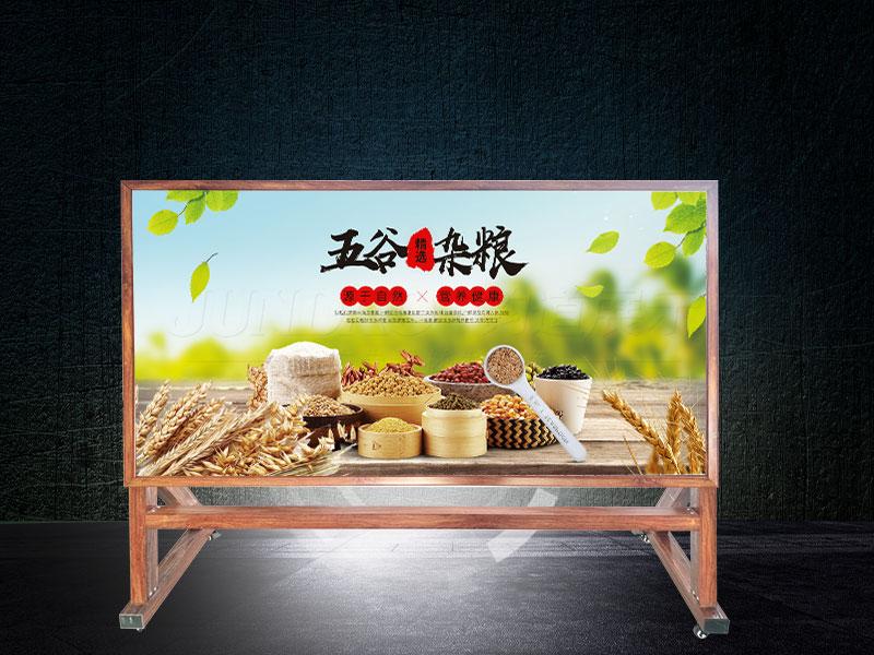 沧州市供应中式单面优质铝合金海报架特价