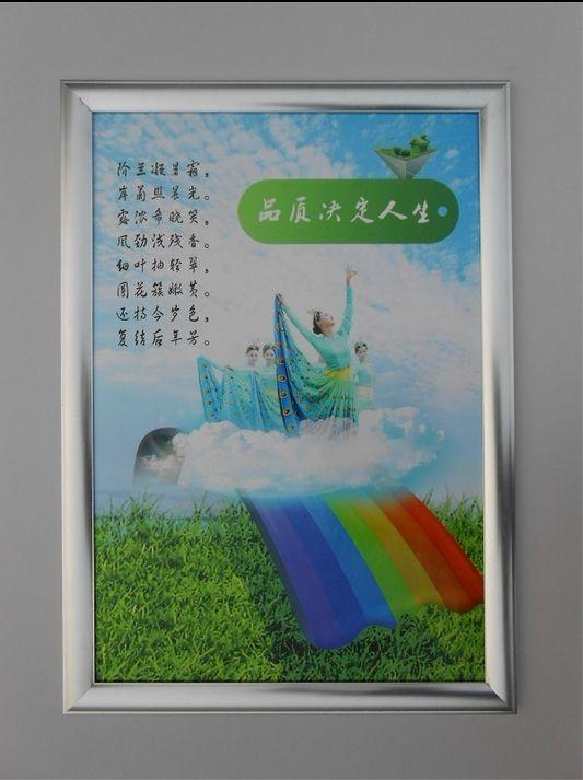 河北省沧州市供应开启式写真广告相框价格参数