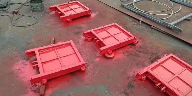 银川渠道铸铁闸门出厂附带质量检测报告