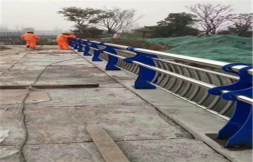 湖南不锈钢河道围栏施工简单
