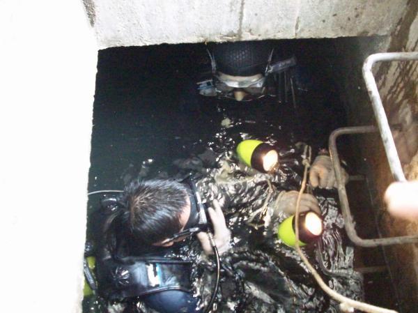 蚌埠打撈隊-物證打撈