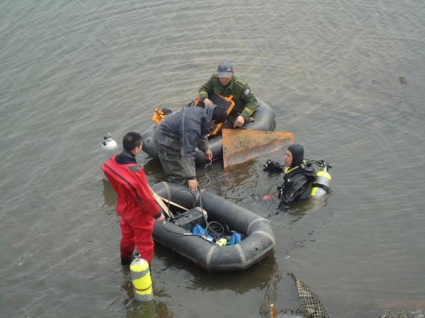 安徽水下打捞队-潜水员打捞队
