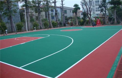 辽宁篮球场场地生产厂家