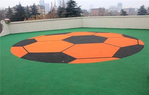 安庆市迎江塑胶球场生产厂家