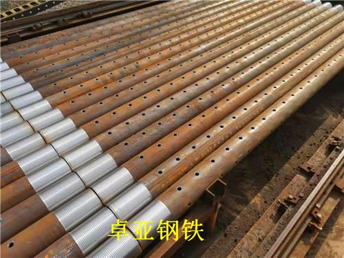 隧道用无缝钢管108*6安徽安庆按需