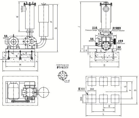 长沙罗茨鼓风机增氧-昶盛风机厂供应