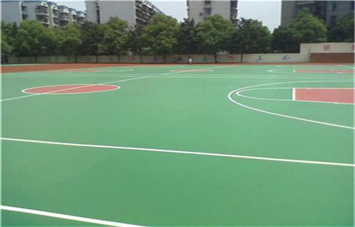 西藏丙烯酸篮球场球场施工球场厂家