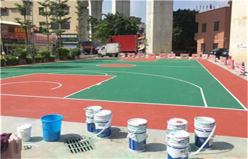 东营丙烯酸篮球场球场材料球场厂家