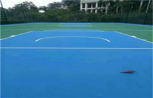 西藏丙烯酸篮球场球场翻新球场厂家