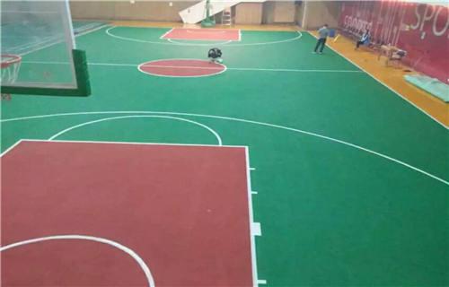 东营丙烯酸篮球场球场材料篮球场报价