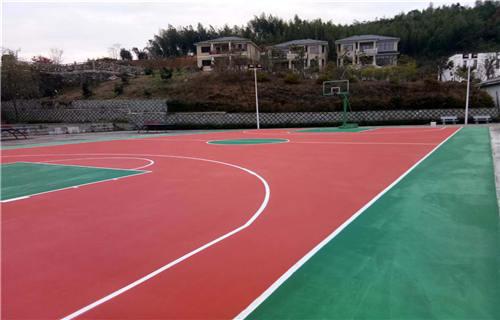西藏丙烯酸篮球场球场材料球场厂家