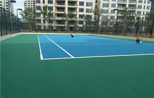 临沂丙烯酸篮球场球场翻新丙烯酸材料