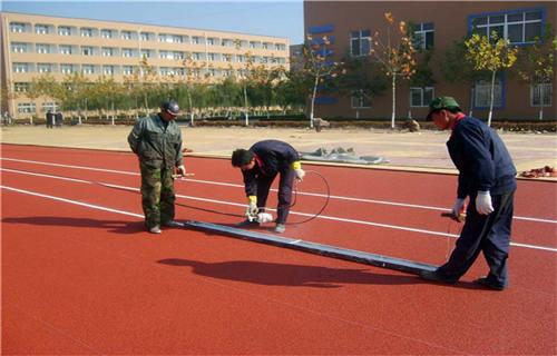 临沂塑胶跑道施工塑胶地面塑胶跑道
