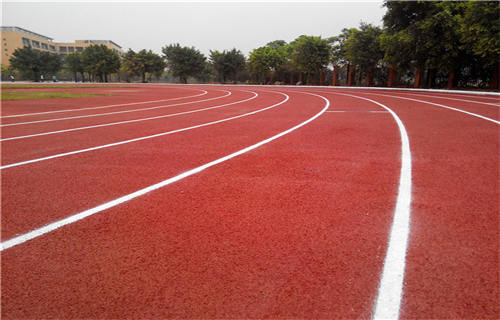 西藏跑道翻新塑胶地面塑胶地坪