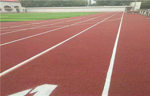 临沂塑胶跑道施工橡胶地坪塑胶跑道