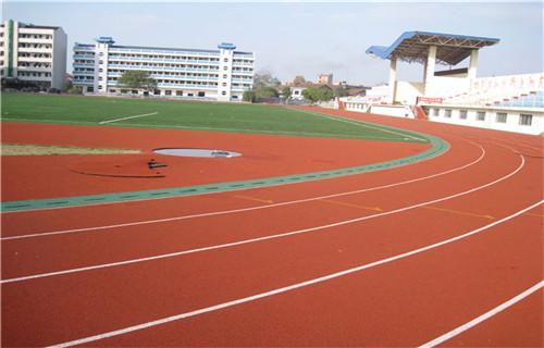 西藏橡胶跑道安装塑胶篮球场塑胶地坪