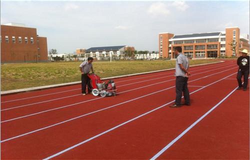 西藏跑道翻新塑胶地面塑胶跑道