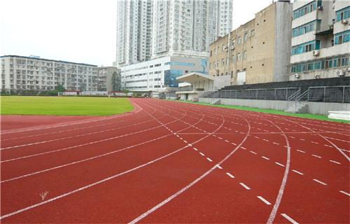 西藏塑胶跑道施工塑胶地面橡胶跑道材料