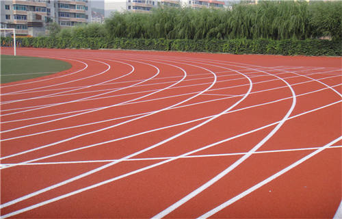 廊坊塑胶跑道施工橡胶地坪塑胶跑道