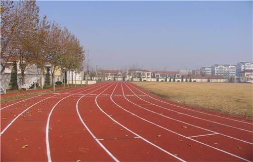 东营橡胶跑道安装橡胶地坪塑胶地坪