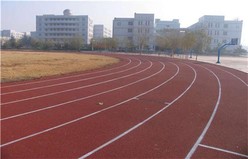 西藏橡胶跑道安装塑胶地面橡胶地板