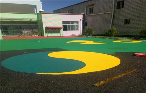 阿坝橡胶地坪塑胶地板塑胶篮球场