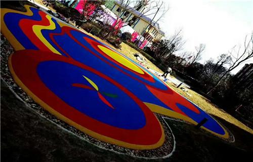 西藏幼儿园塑胶跑道塑胶地板橡胶跑道