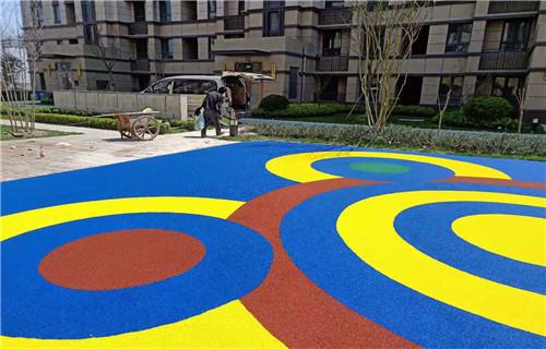 阿坝幼儿园塑胶跑道公园健身步道幼儿园地坪