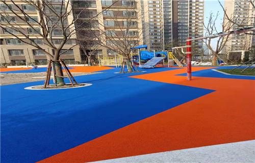 阿坝幼儿园橡胶跑道公园健身步道幼儿园地坪