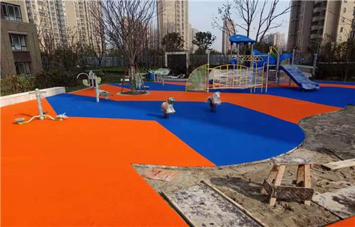 临沂橡胶地坪塑胶地板塑胶篮球场