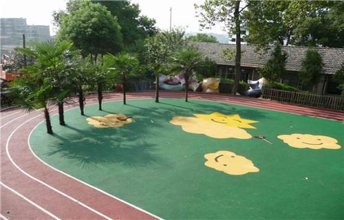 阿坝学校塑胶操场跑道翻新塑胶地坪施工