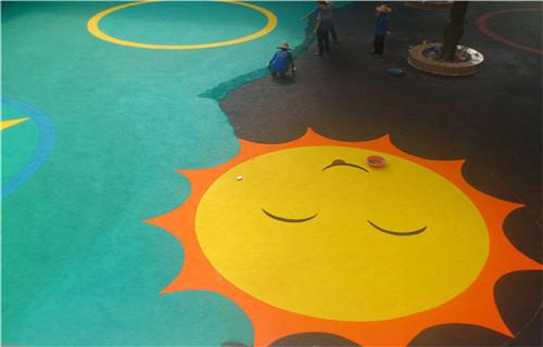 东营橡胶地坪塑胶地面幼儿园地坪