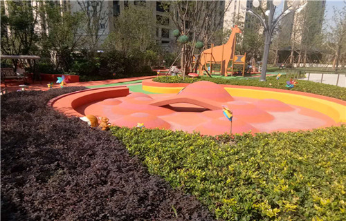 临沂幼儿园地板塑胶地面幼儿园地坪