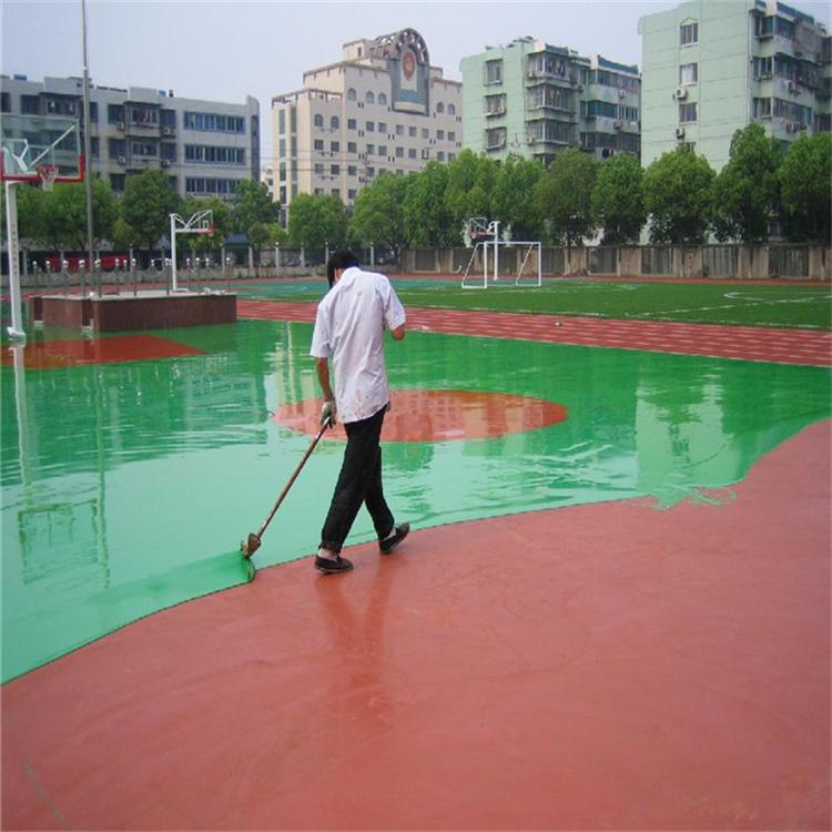 长沙塑胶跑道球场翻新幼儿园塑胶地面