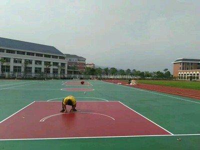 西藏硅pu篮球场篮球场翻新篮球场施工