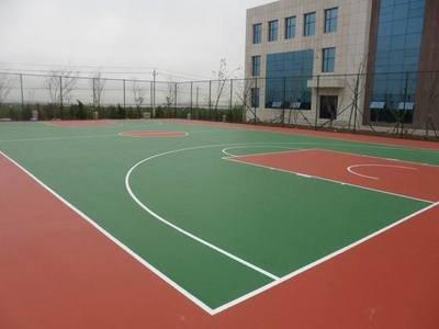 长沙硅pu球场报价球场施工幼儿园塑胶地面