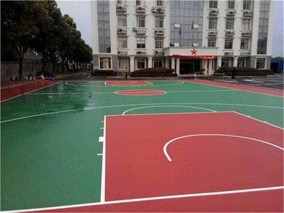 西藏塑胶篮球场篮球场翻新篮球场施工