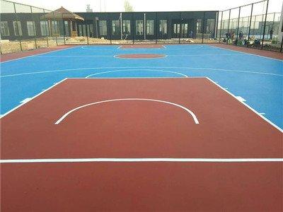 马鞍山硅pu篮球场篮球场翻新篮球场施工