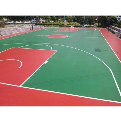 东营pu球场水性硅pu球场篮球场施工